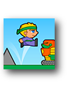 villagers vs robots run icon